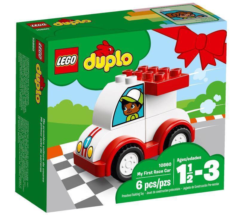 10860 Lego DUPLO My First Мой первый гоночный автомобиль, Лего Дупло