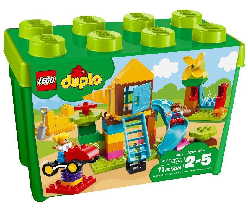 10864 Lego DUPLO My First Большая игровая площадка, Лего Дупло