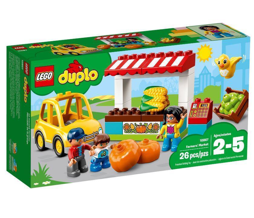 10867 Lego DUPLO Town Фермерский рынок, Лего Дупло