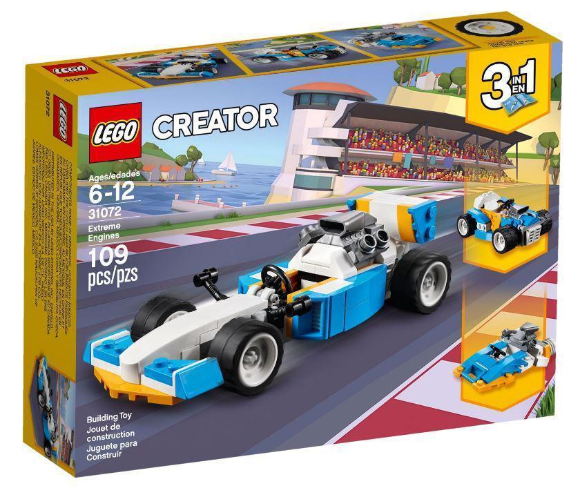31072 Lego Creator Экстремальные гонки, Лего Креатор