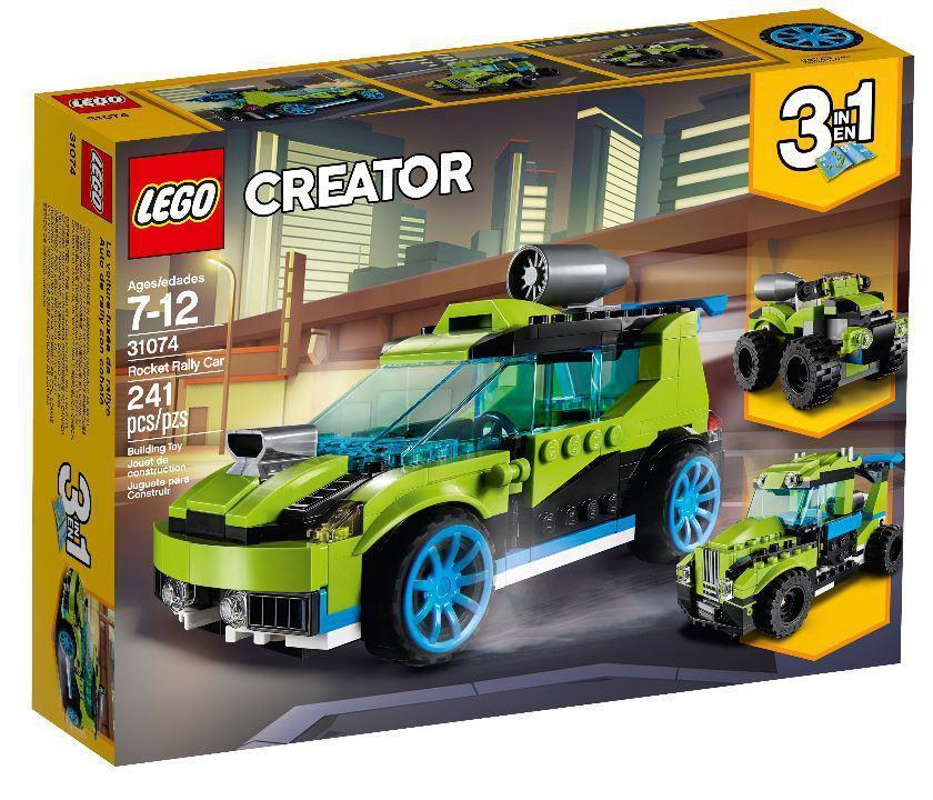 31074 Lego Creator Суперскоростной раллийный автомобиль, Лего Креатор