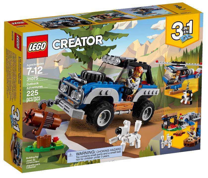 31075 Lego Creator Приключения в глуши, Лего Креатор