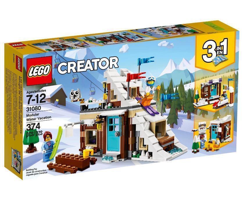 31080 Lego Creator Зимние каникулы (модульная сборка), Лего Креатор