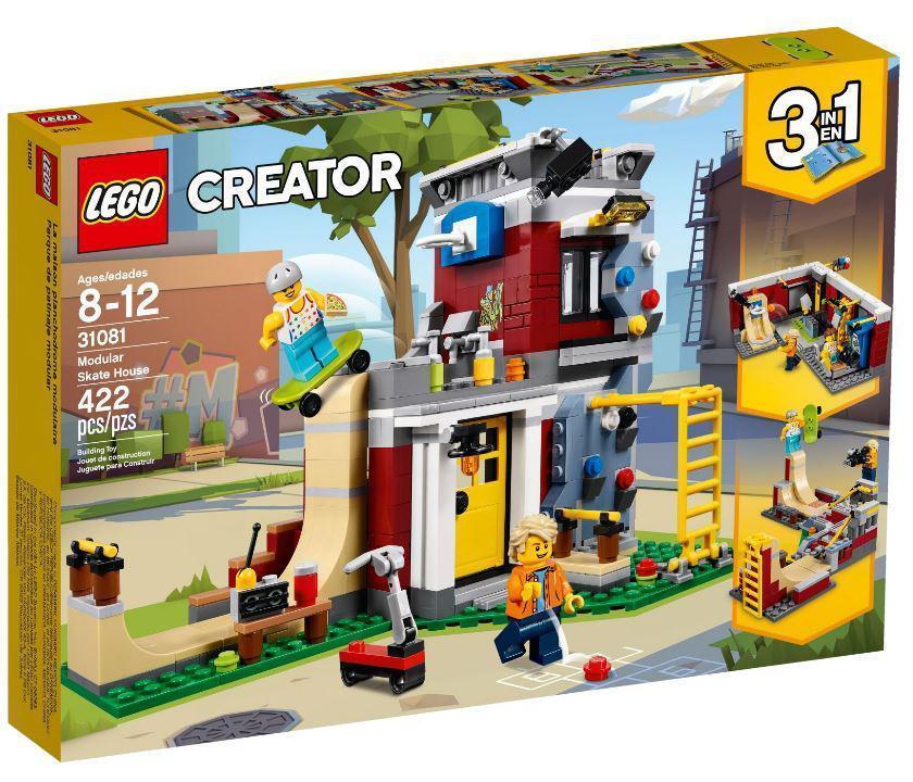 31081 Lego Creator Скейт-площадка (модульная сборка), Лего Креатор