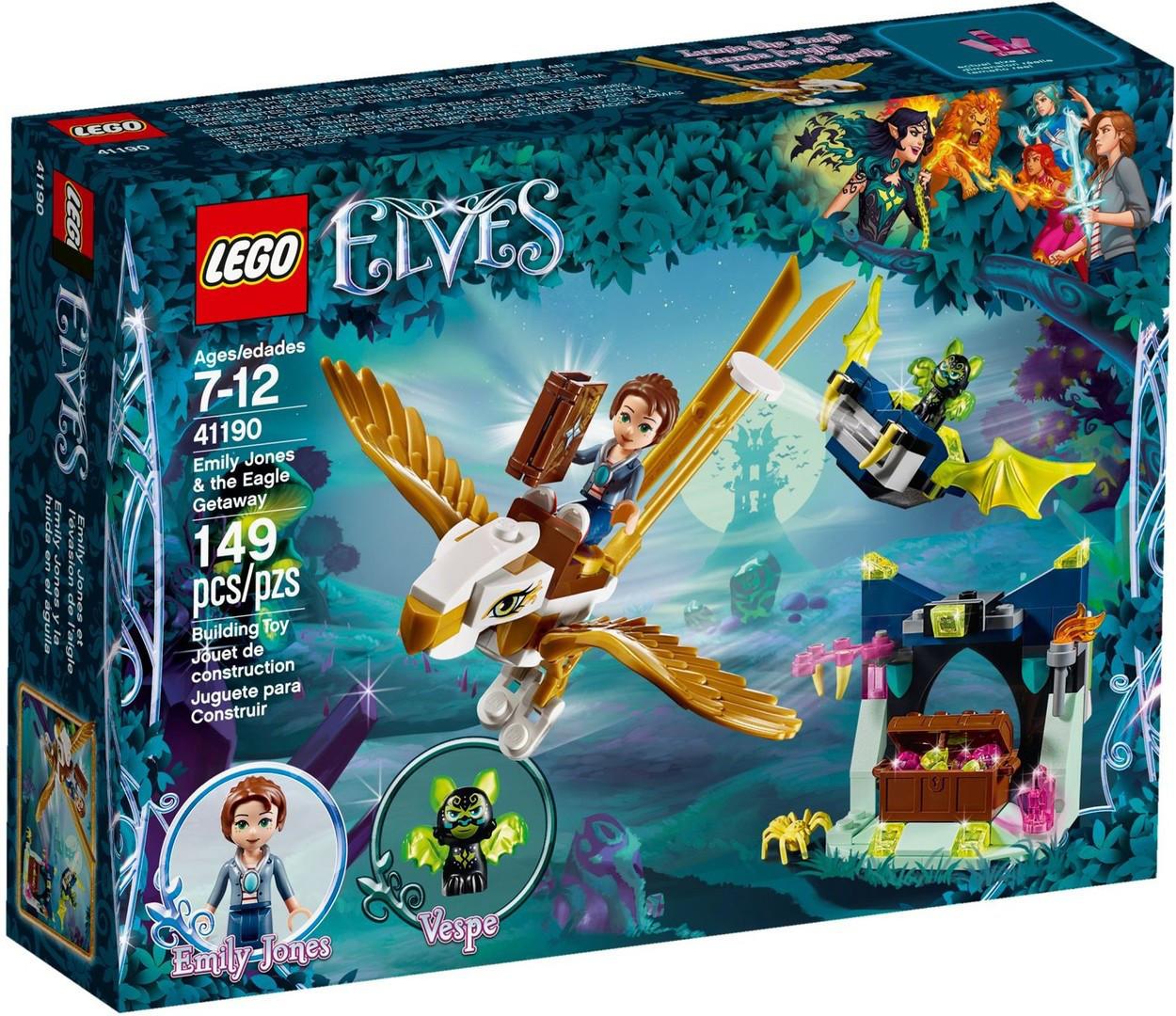 41190 Lego Elves Побег Эмили на орле, Лего Эльфы