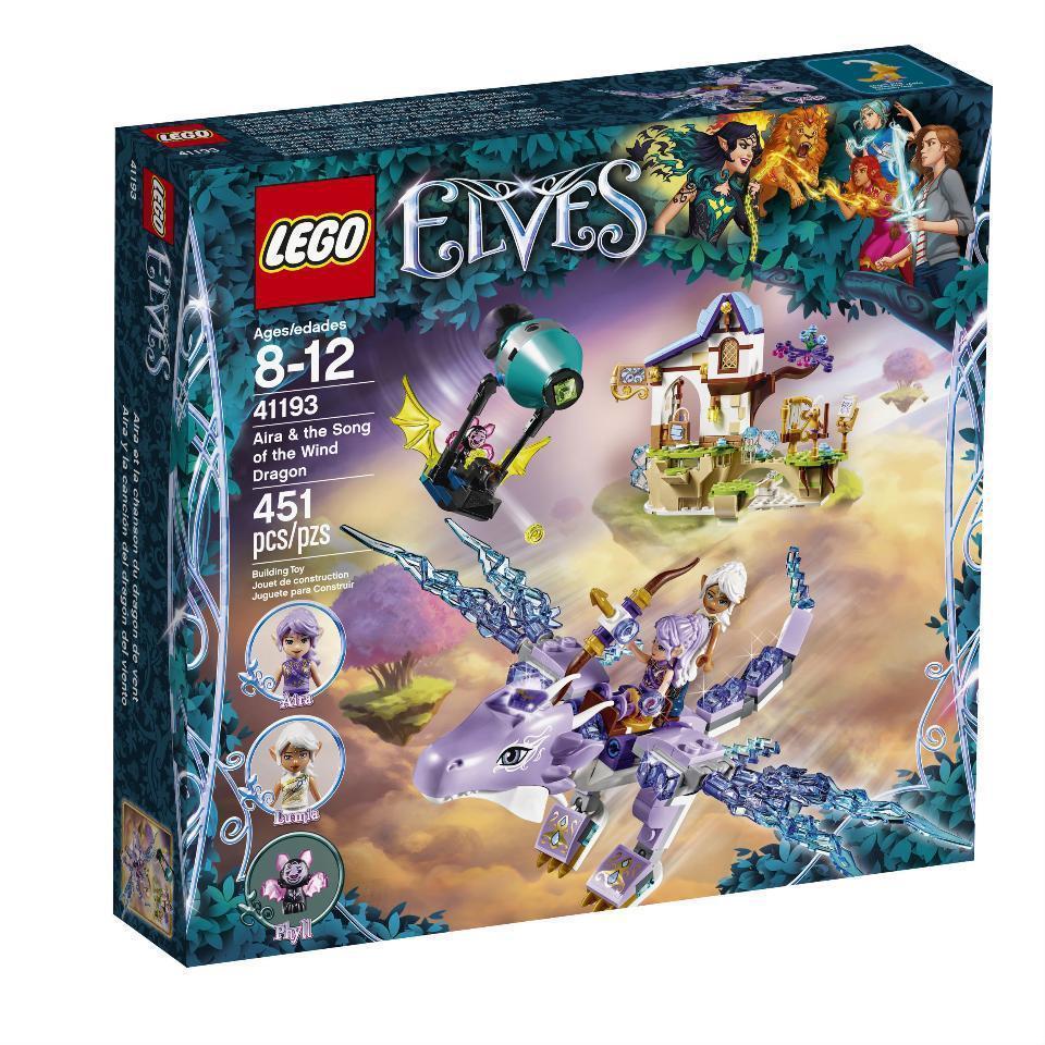 41193 Lego Elves Эйра и дракон Песня ветра, Лего Эльфы