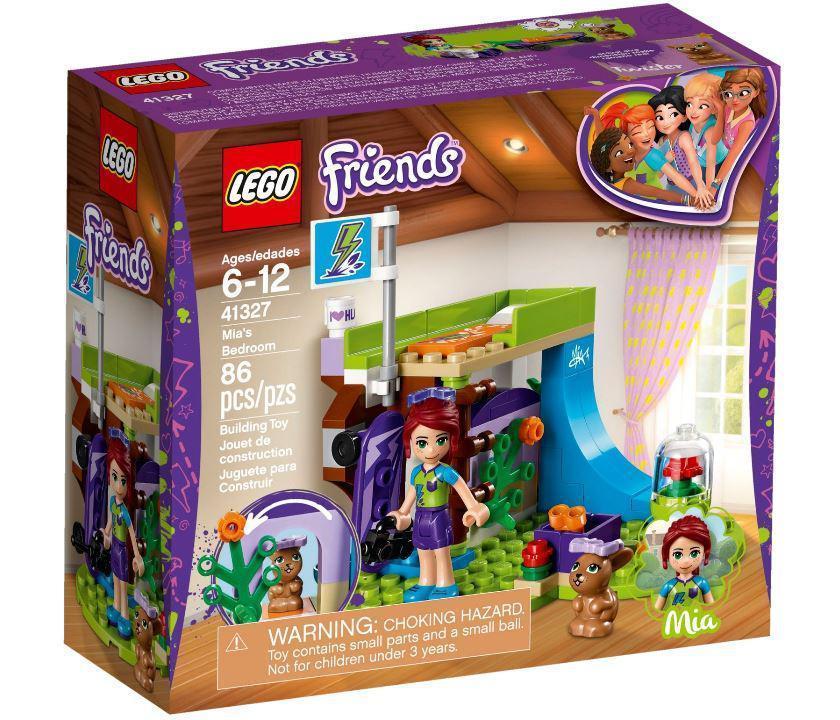 41327 Lego Friends Комната Мии, Лего Подружки