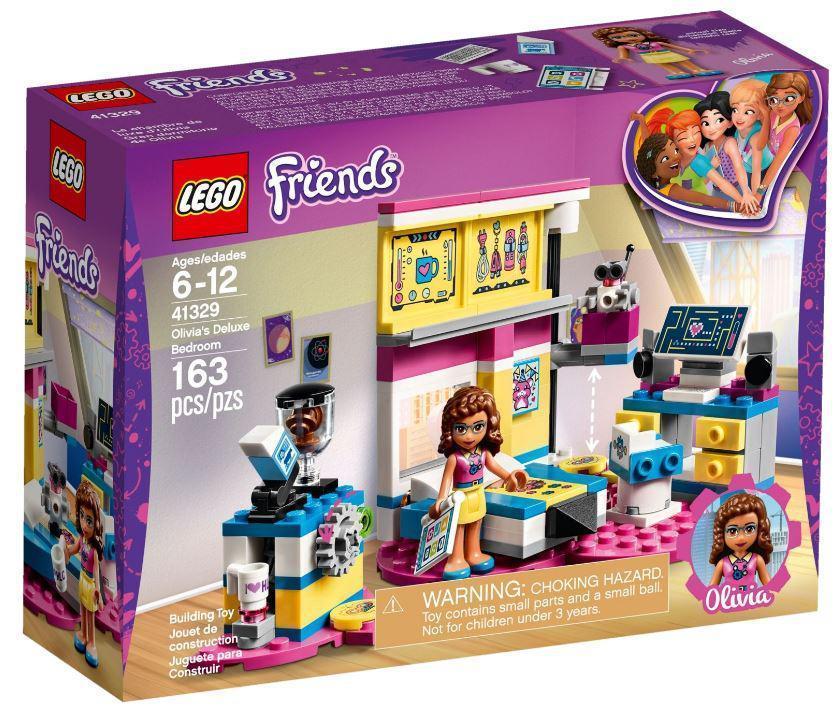 41329 Lego Friends Комната Оливии, Лего Подружки