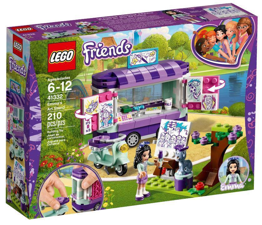 41332 Lego Friends Передвижная творческая мастерская Эммы, Лего Подружки