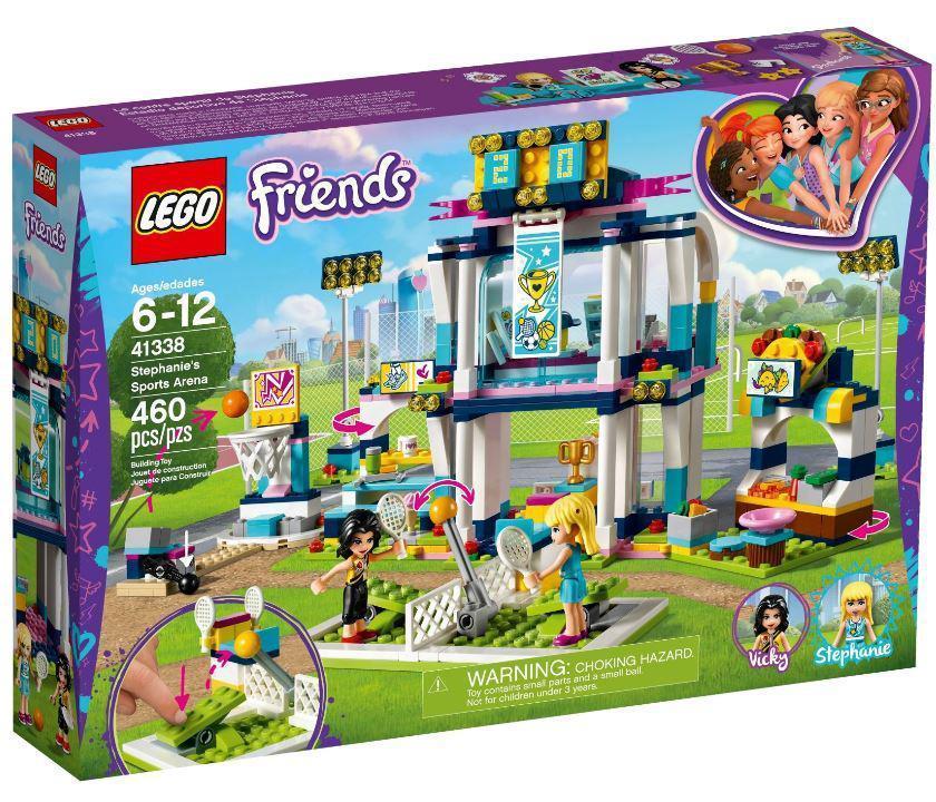 41338 Lego Friends Спортивная арена для Стефани, Лего Подружки
