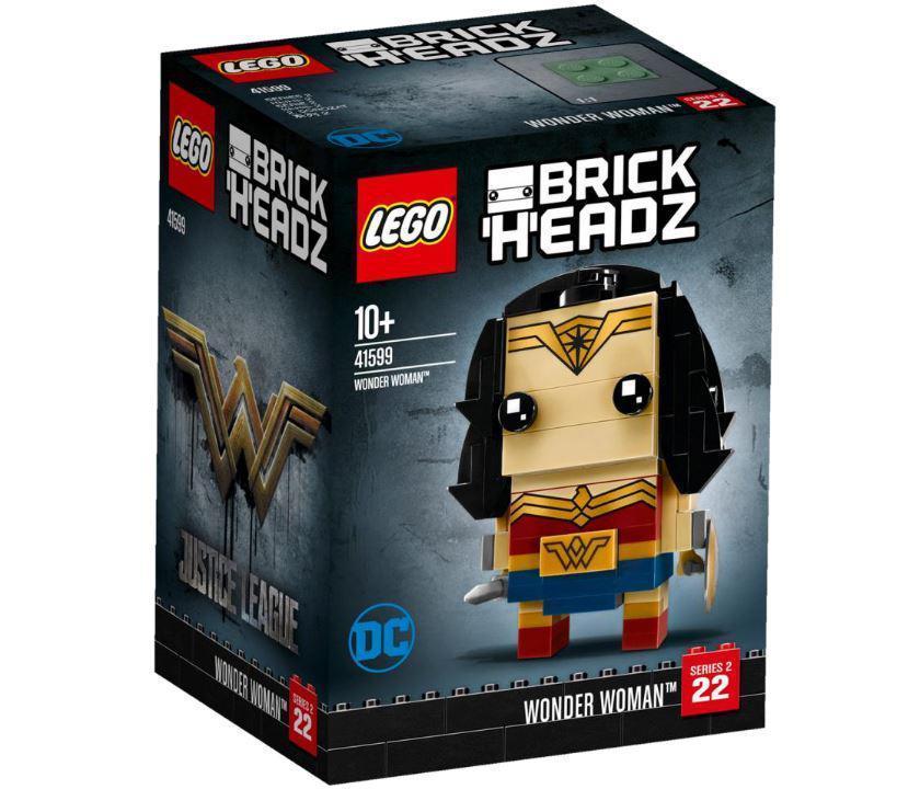 41599 Lego BrickHeadz Чудо-женщина, Лего БрикХедз