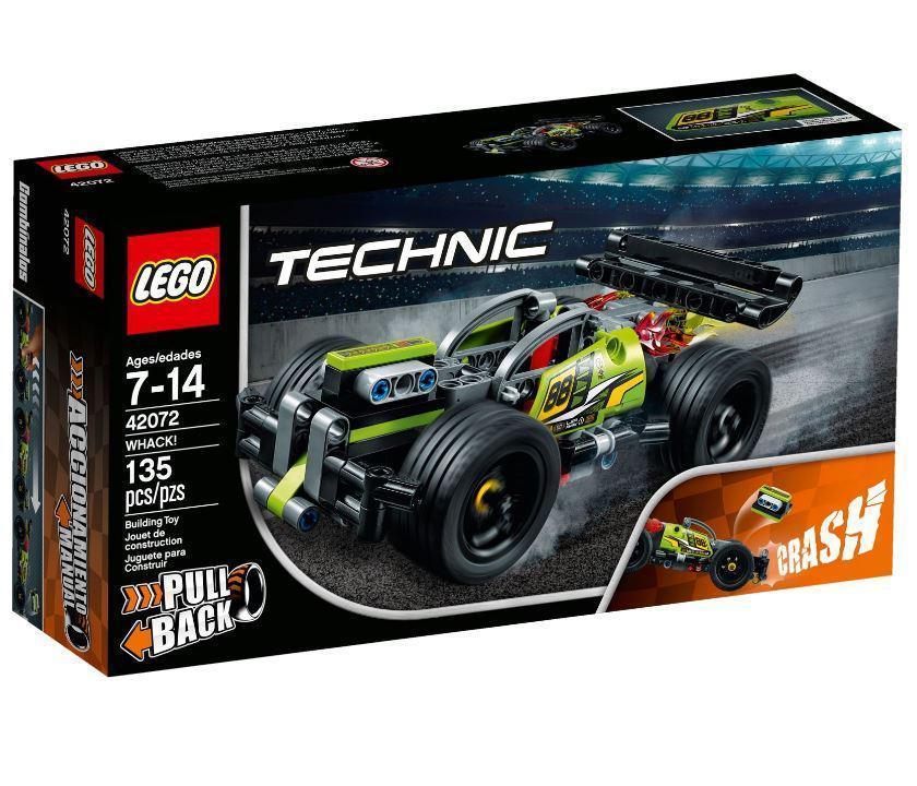42072 Lego Technic Зеленый гоночный автомобиль, Лего Техник