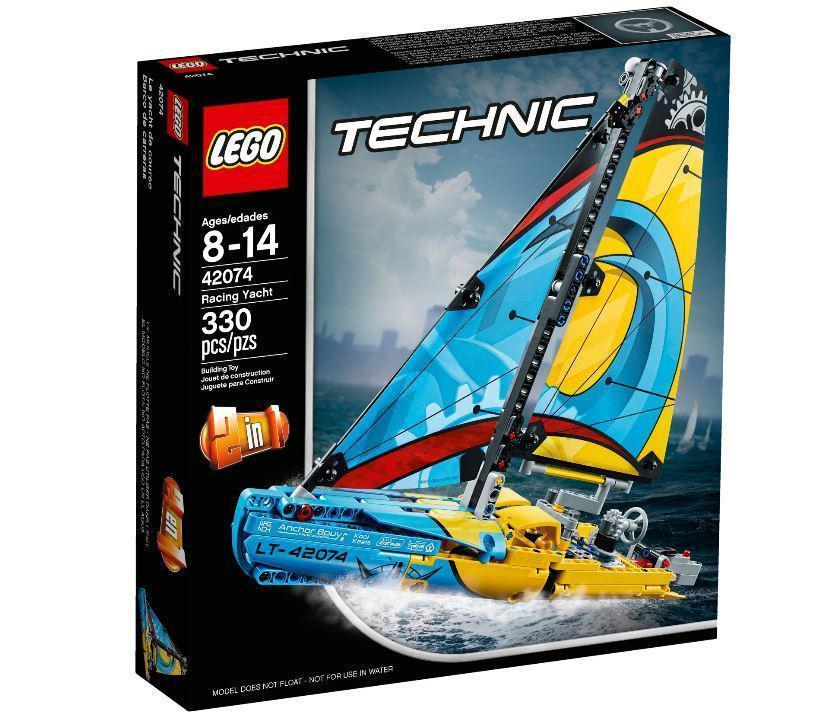 42074 Lego Technic Гоночная яхта, Лего Техник