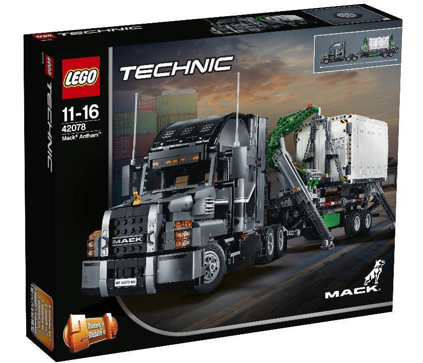 42078 Lego Technic Грузовик MACK, Лего Техник