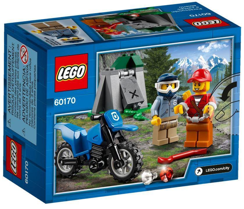 60170 Lego City Погоня на внедорожниках, Лего Город Сити