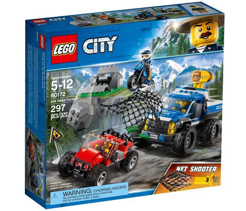 60172 Lego City Погоня по грунтовой дороге, Лего Город Сити