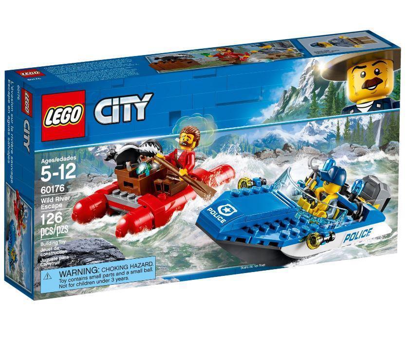 60176 Lego City Погоня по горной реке, Лего Город Сити