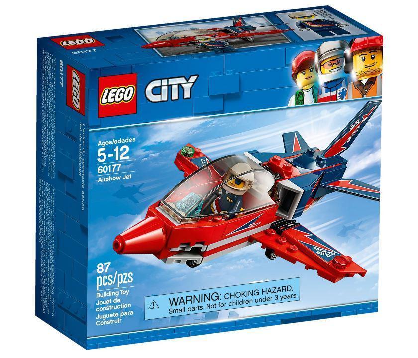 60177 Lego City Реактивный самолёт, Лего Город Сити