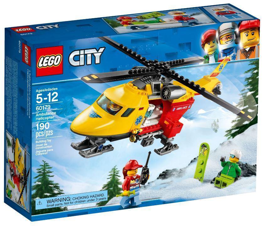 60179 Lego City Вертолёт скорой помощи, Лего Город Сити