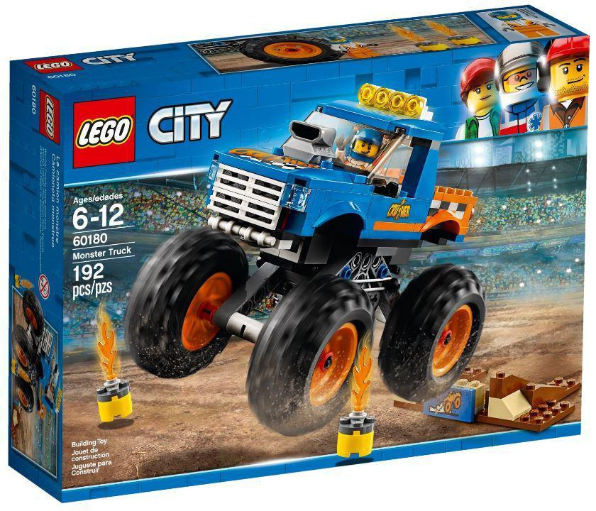 60180 Lego City Монстр-трак, Лего Город Сити