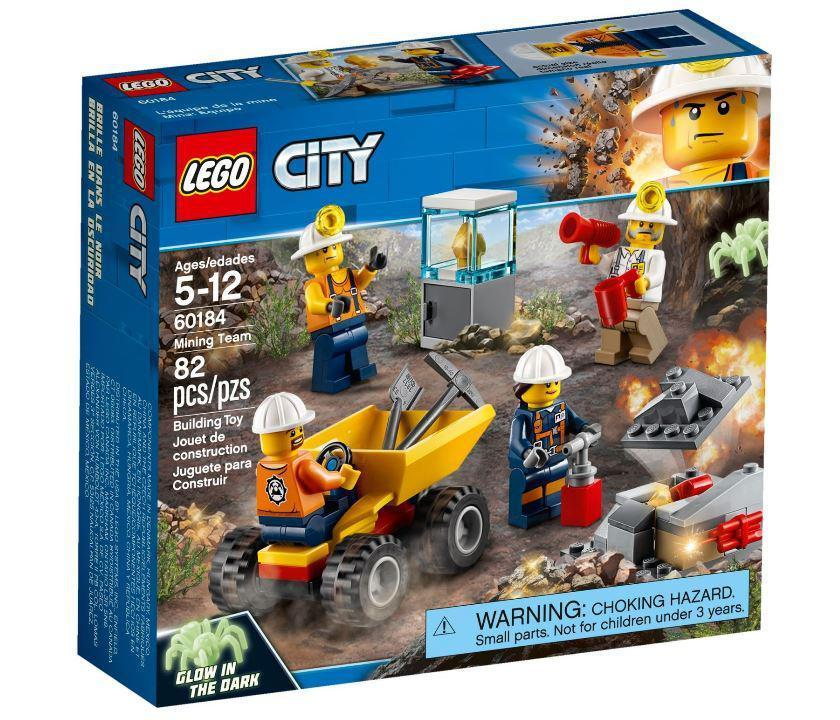60184 Lego City Бригада шахтеров, Лего Город Сити