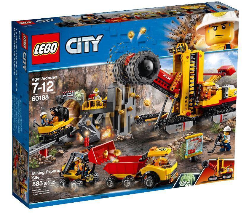 60188 Lego City Шахта, Лего Город Сити