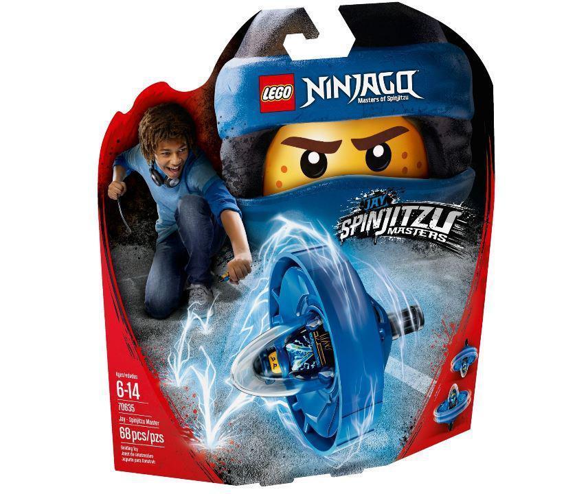 70635 Lego Ninjago Джей — мастер Кружитцу, Лего Ниндзяго