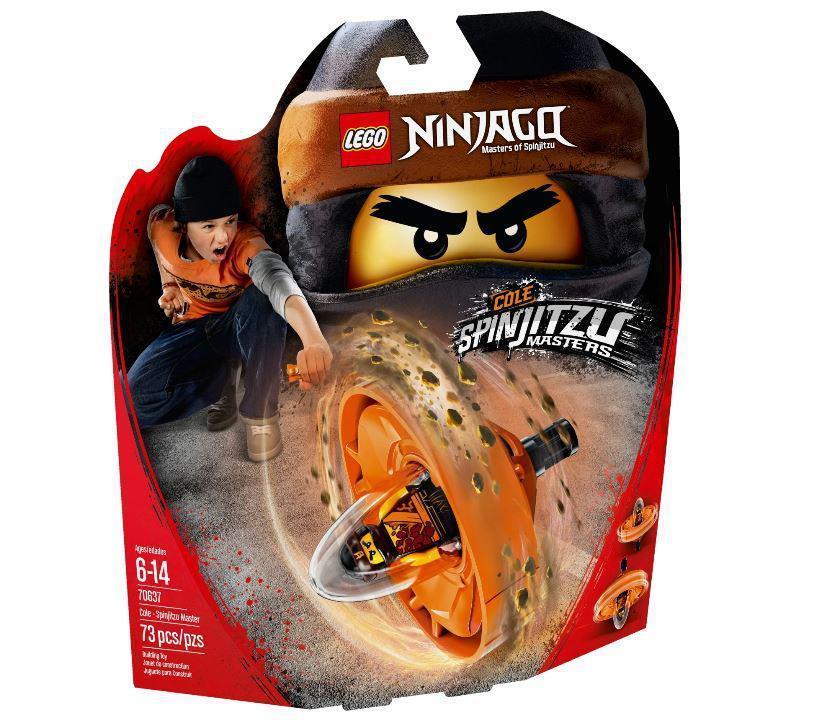 70637 Lego Ninjago Коул — мастер Кружитцу, Лего Ниндзяго