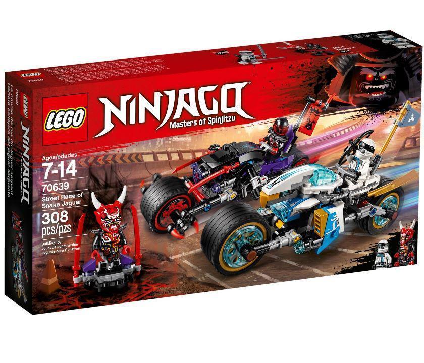 70639 Lego Ninjago Уличная погоня, Лего Ниндзяго