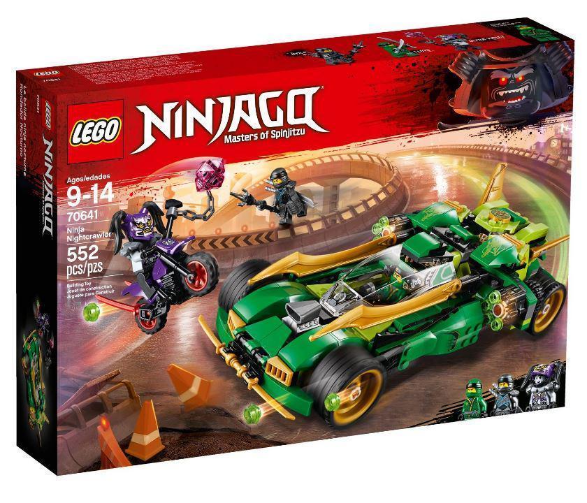 70641 Lego Ninjago Ночной вездеход ниндзя, Лего Ниндзяго