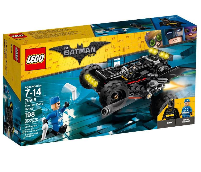 70918 Lego Лего Фильм: Бэтмен Пустынный багги Бэтмена, The Lego Batman Movie