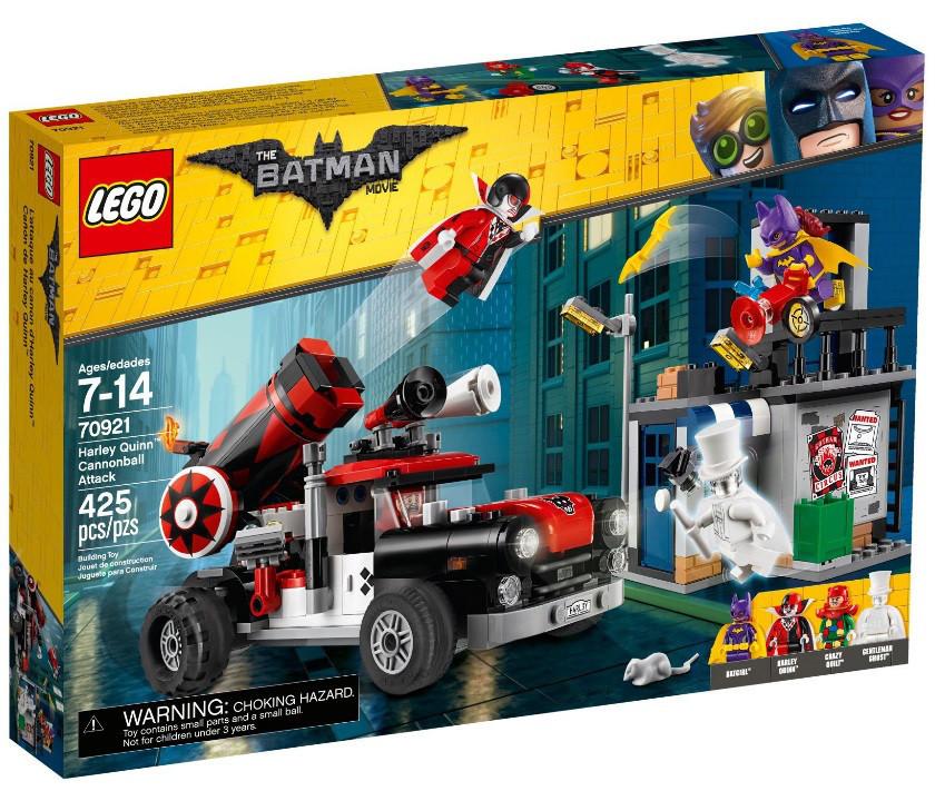 70921 Lego Лего Фильм: Бэтмен Тяжёлая артиллерия Харли Квинн, The Lego Batman Movie