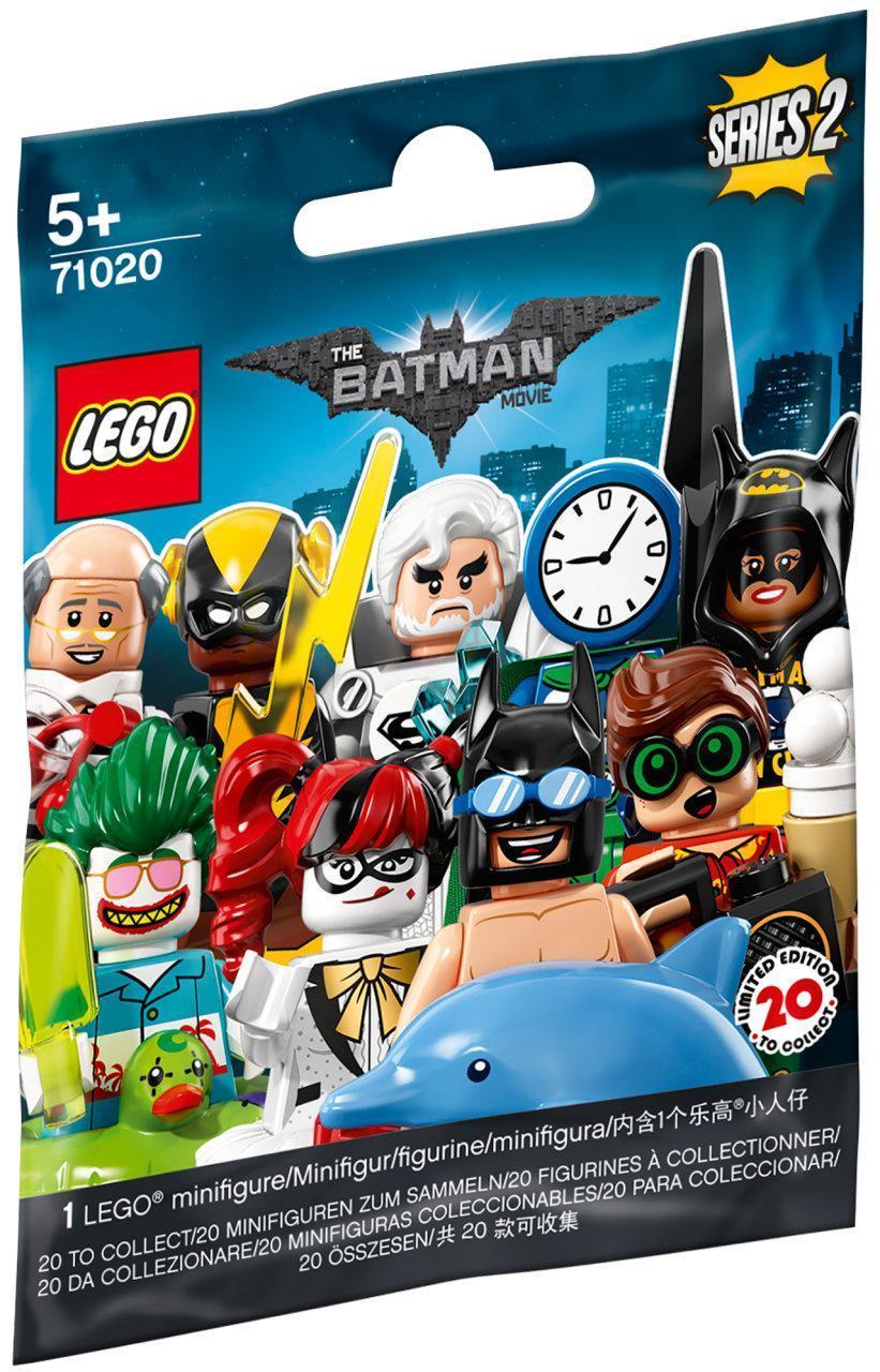 71020 Lego Минифигурка Лего Фильм: Бэтмен (неизвестная, 1 из 20 возможных), серия 2
