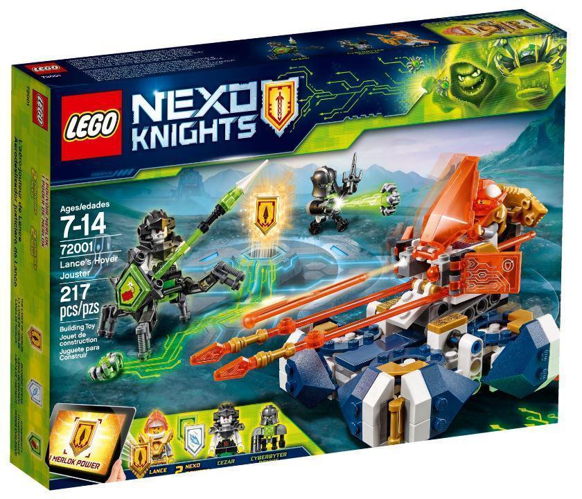 72001 Lego Nexo Knights Летающая турнирная машина Ланса, Лего Нексо Рыцари