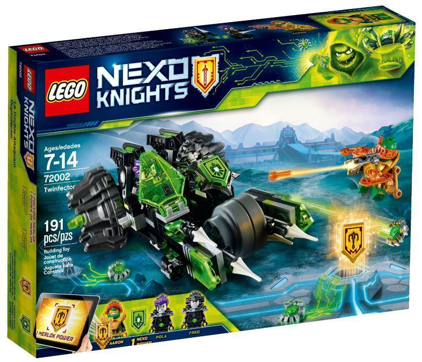72002 Lego Nexo Knights Боевая машина близнецов, Лего Нексо Рыцари