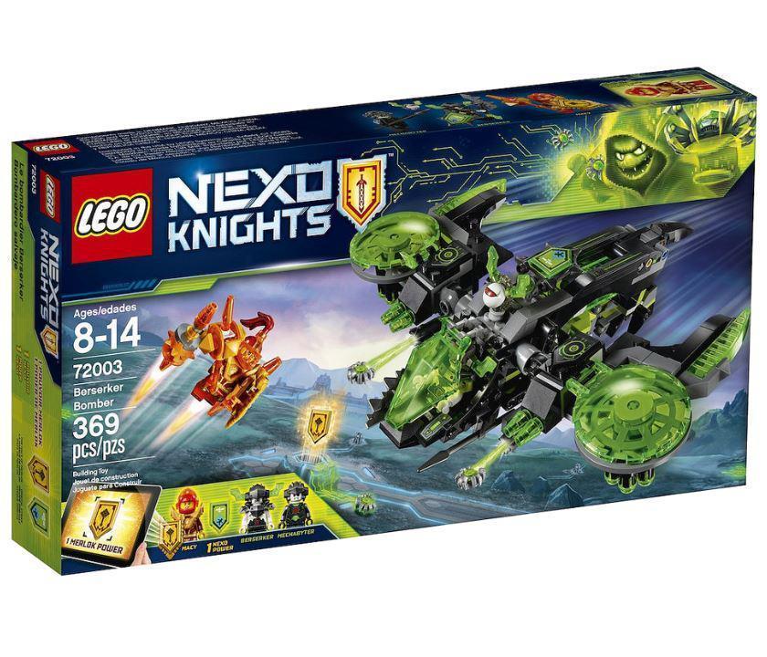 72003 Lego Nexo Knights Неистовый бомбардировщик, Лего Нексо Рыцари