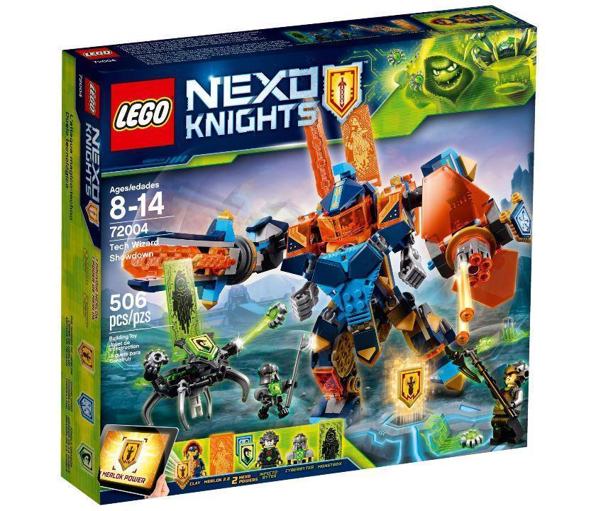 72004 Lego Nexo Knights Решающая битва роботов, Лего Нексо Рыцари