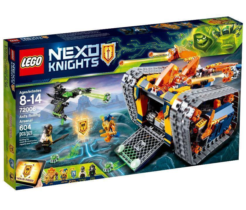 72006 Lego Nexo Knights Мобильный арсенал Акселя, Лего Нексо Рыцари