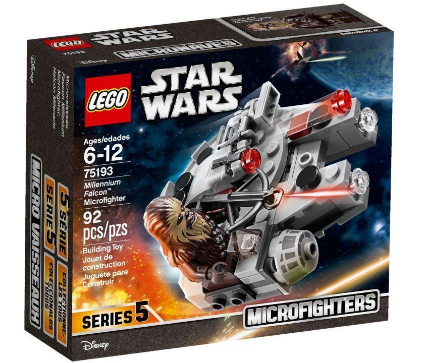 75193 Lego Star Wars Микрофайтер «Сокол Тысячелетия», Лего Звездные войны