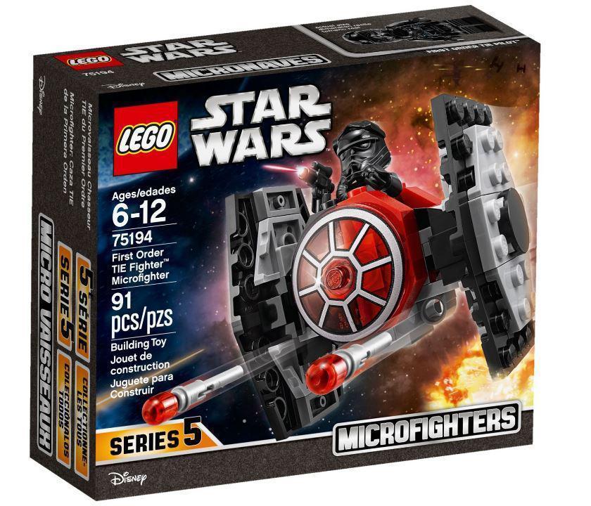 75194 Lego Star Wars Микрофайтер «Истребитель СИД Первого Ордена», Лего Звездные войны