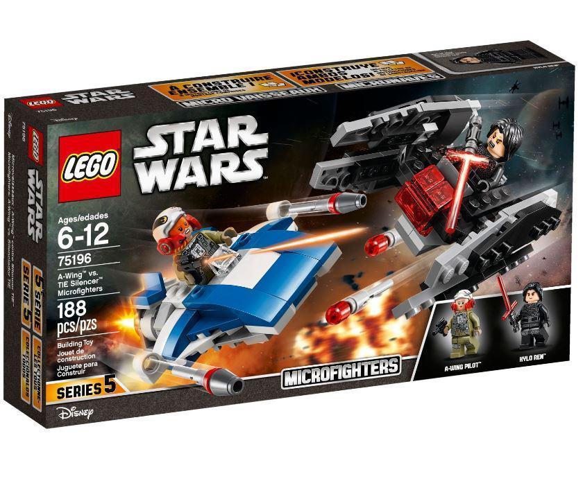 75196 Lego Star Wars Истребитель типа А против бесшумного истребителя СИД, Лего Звездные войны