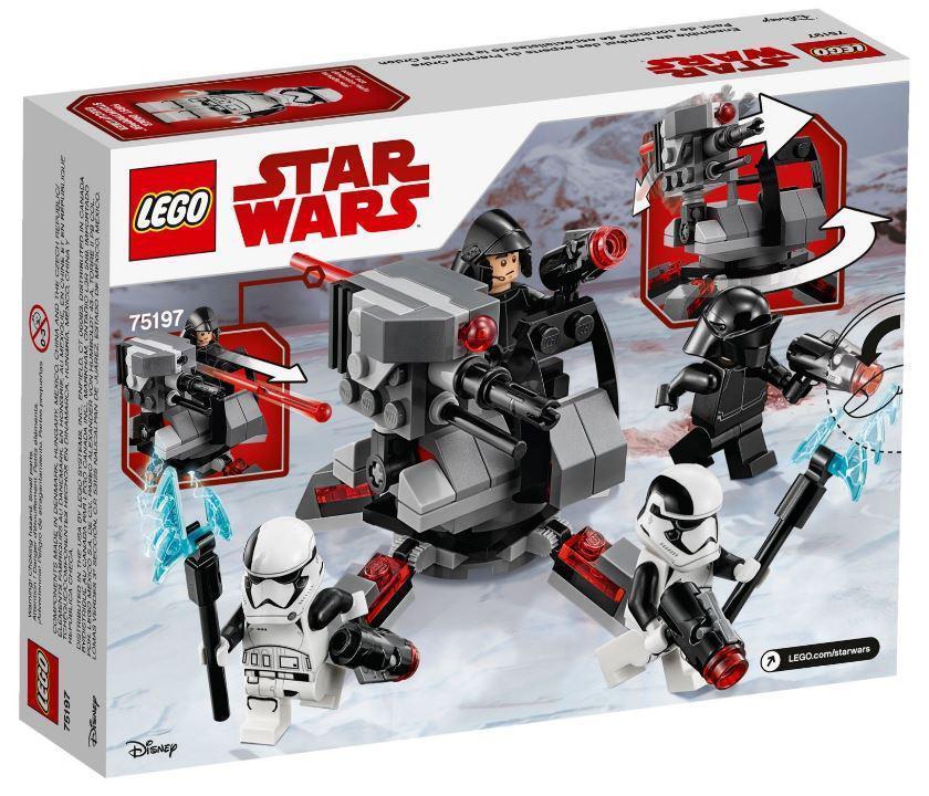 75197 Lego Star Wars Боевой набор специалистов Первого Ордена, Лего Звездные войны
