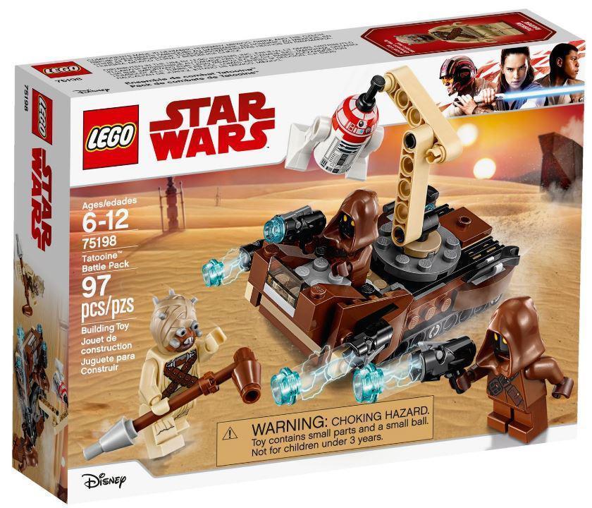 75198 Lego Star Wars Боевой набор планеты Татуин, Лего Звездные войны