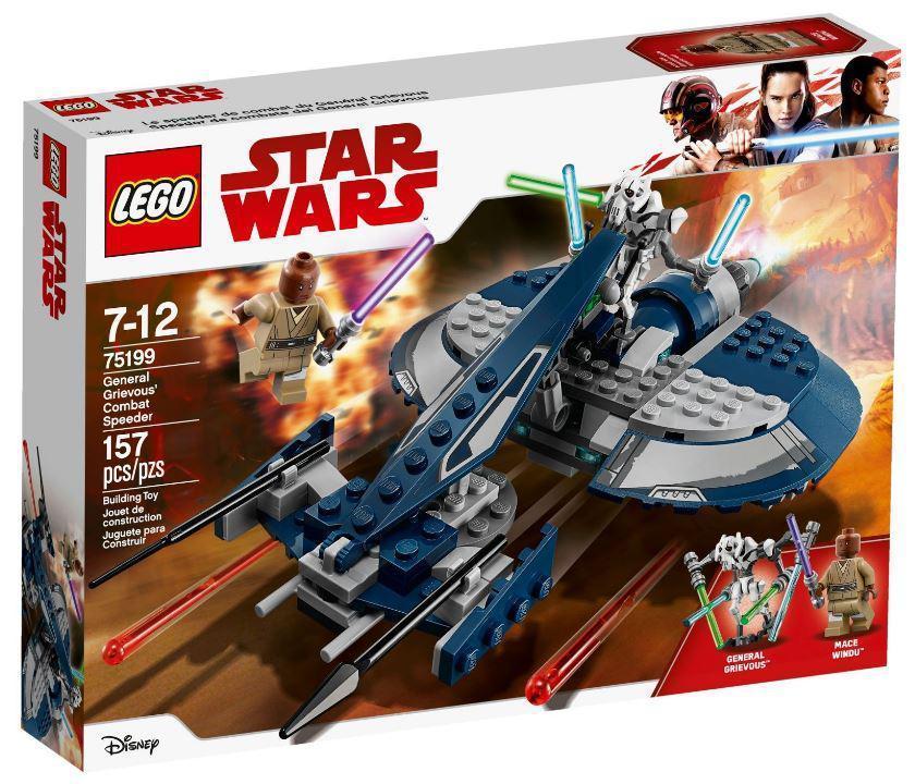 75199 Lego Star Wars Боевой спидер генерала Гривуса, Лего Звездные войны