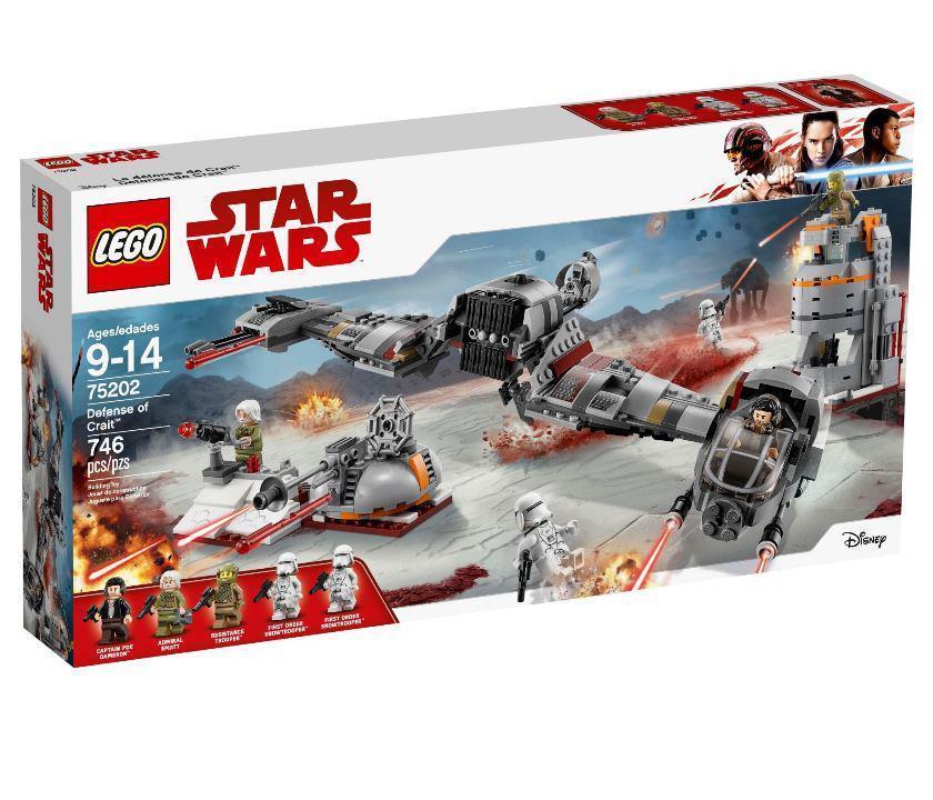 75202 Lego Star Wars Защита Крайта, Лего Звездные войны