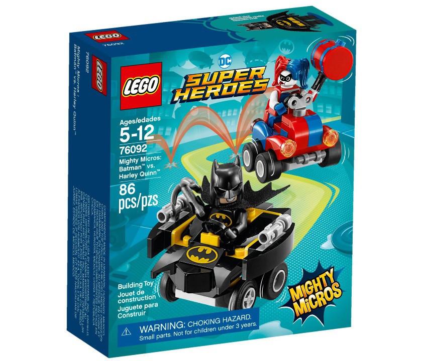 76092 Lego Super Heroes Mighty Micros: Бэтмен против Харли Квин, Лего Супер Герои DC