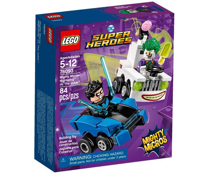 76093 Lego Super Heroes Mighty Micros: Найтвинг против Джокера, Лего Супер Герои DC