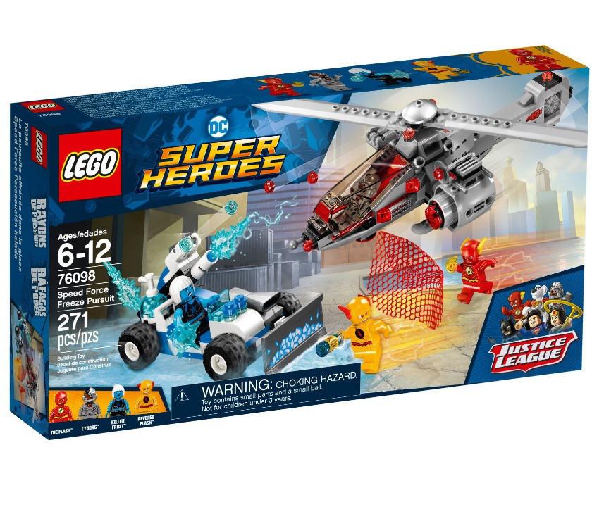 76098 Lego Super Heroes Скоростная погоня, Лего Супергерои DC