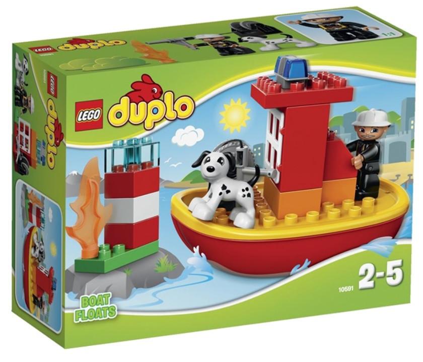 10591 Lego DUPLO Пожарный катер, Лего Дупло