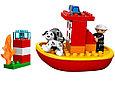 10591 Lego DUPLO Пожарный катер, Лего Дупло, фото 2